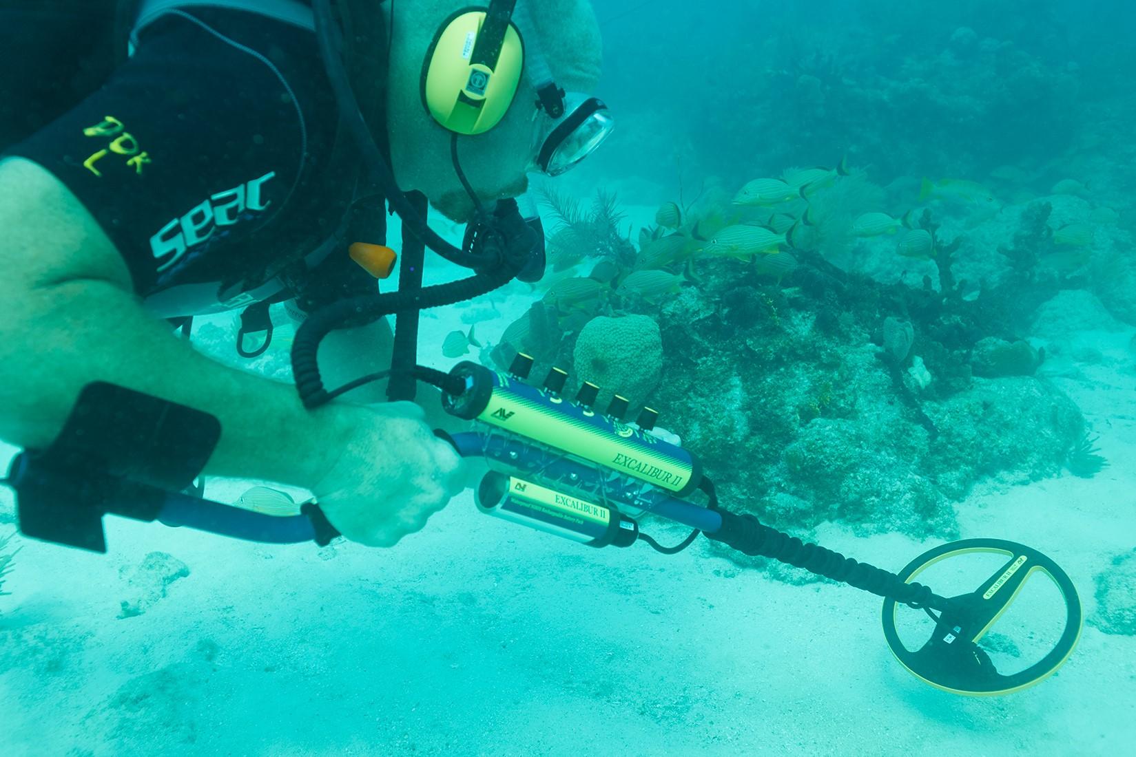 Máy dò kim loại và đường ống - Minilab Excalibur II