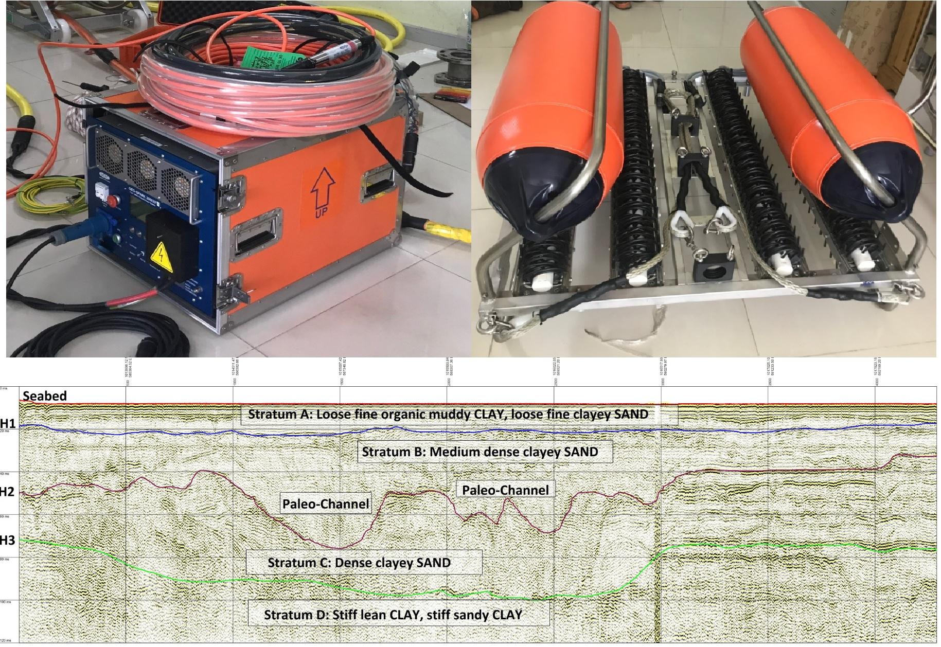 Sub-Bottom Profiler - GEO-SPARK (Ultra Hi-Res Seismic Profiling System)